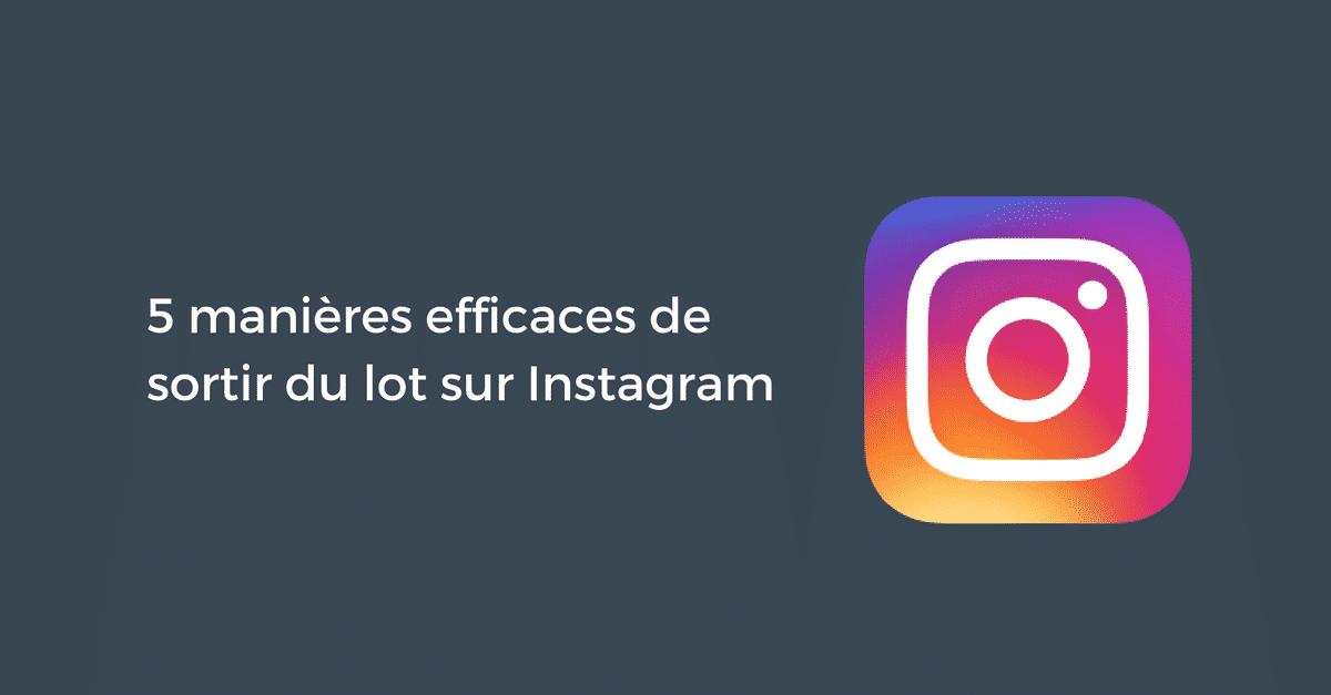 Sortir Lot Instagram