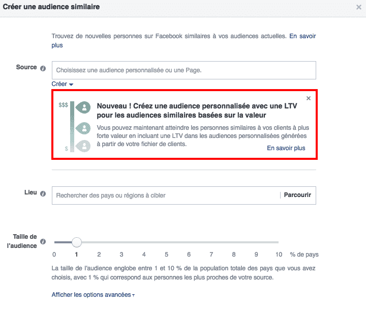 Acheteurs reguliers Facebook