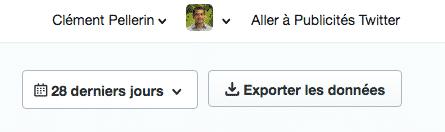 Exporter Donnees Twitter