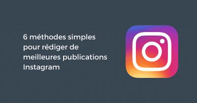 Meilleures Publications Instagram