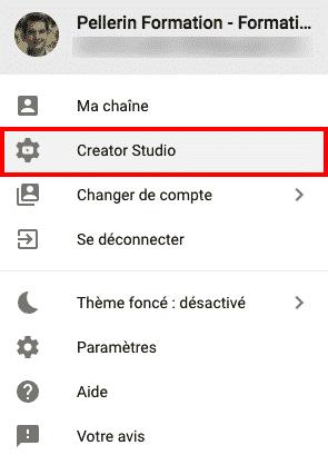 Creator Studio Youtube