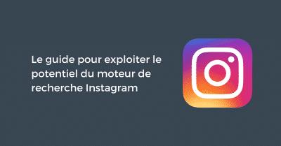 Recherche sur Instagram