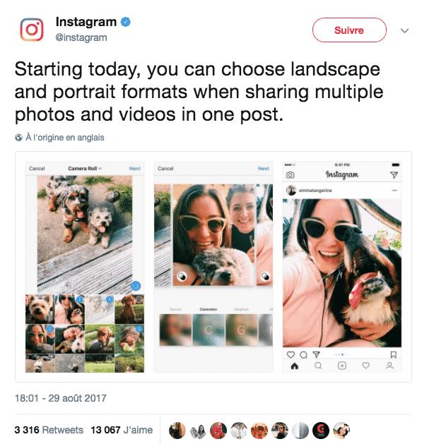 Albums Photos Paysages Portraits Instagram
