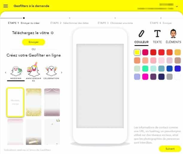 Filtres Snapchat PC