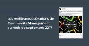 Meilleures Operations Septembre 2017