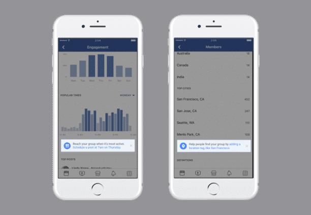 Statistiques Groupes Facebook