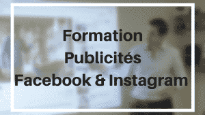 "Formation ""Publicités Facebook & Instagram"" - 1 jour & 3 participants maximum"
